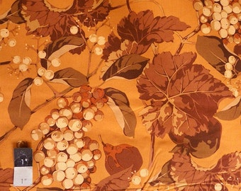 Martha Negley MN44 Autumn Medley Mix Brown Cotton Fabric 1 Yd