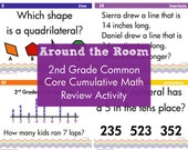 Cumulative Common Core Math Review for 2nd Grade