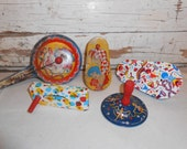 Vintage Metal Noise Makers Party Supplies