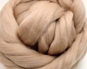4 oz. Merino Wool Top - Latte - Ships Free