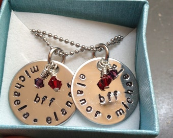 BFF Necklace SET (STERLING)