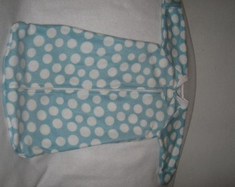 Fleece Baby Sack Sizes S-XL