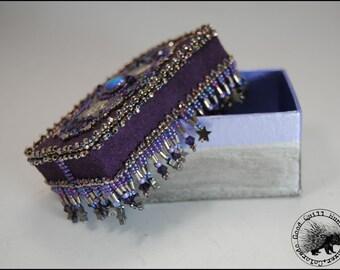 Purple Trynket Box