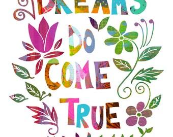 Inspirational Quote Art, Wall Art Print