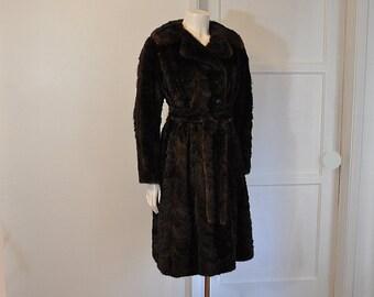 mink coat /  Christian Dior Vintage 1960's Mink Coat