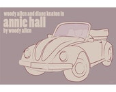 Movie poster print Annie Hall 18x12 inches