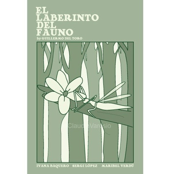 El Laberinto del Fauno, or Pan's Labyrinth, poster