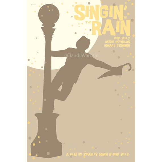 Singin' in the Rain 12x18 inches movie poster