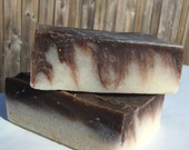 Chocolate Mint Cold Process Handmade Soap - all natural - BeyondThePicketFence
