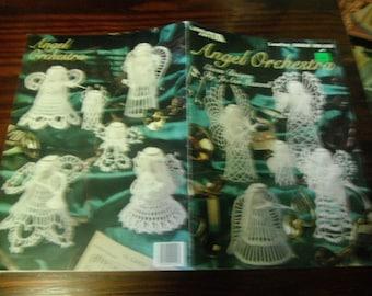 Thread Angel Crocheting Angel Orchestra Leisure Arts 2222 Jo Ann Maxwell Crochet Pattern Leaflet