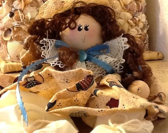 Doll  Kit Includes Wood, Fabric and most supplies to Make 14 Dolls
