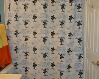 New Handmade Shower Curtain Made With Harry Potter Bed Sheet (not a licensed product)