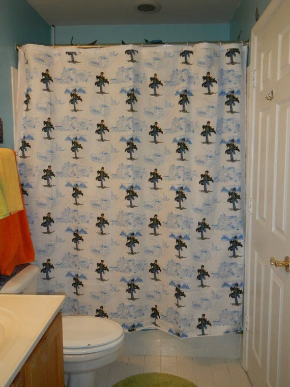New Handmade Shower Curtain Made With Harry Potter Bed Sheet