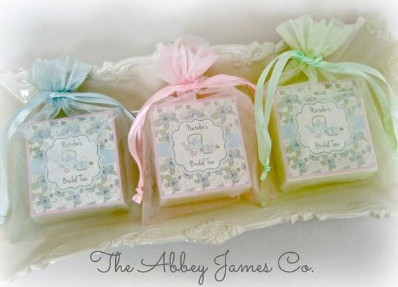 tea party favors tea party bridal shower baby shower favors bridal