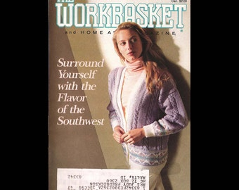 The Workbasket - Vintage Craft Magazine c. January 1990