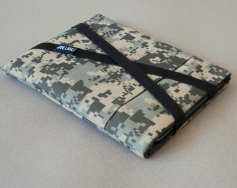 Laptop Case, for MacBook 11inch/13inch/15inch and other laptop models. Padded/Water Resistant/Camo.