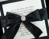 Couture Bow - Sweet Sixteen -  Boxed invitations - Special listing for Jackie
