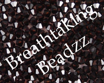 CLEARANCE Swarovski Beads Crystal Bead 50 Mocca 4mm Bicone 5328 Many Colors In Stock,os