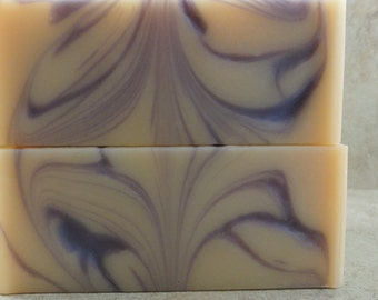 Cloud Nine - Handmade Natural Soap - Victorian Lilac, Fresh Cream, White Raspberry - Limited Edition
