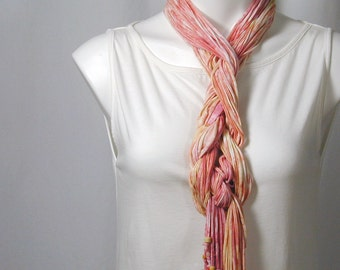 The Soba Scarf in Pink Lemonade