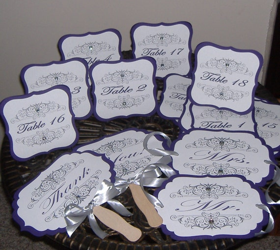 Table Names Wedding items similar to table numbers, wedding table numbers, table names
