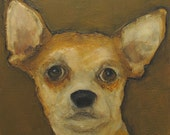 CHIHUAHUA - Giclee print from my original oil painting - Dog Puppy Art