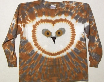 Barn Owl Shirt, Long Sleeved Youth Extra Large