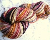 We Call Her Peaches - handspun yarn - 224 yards