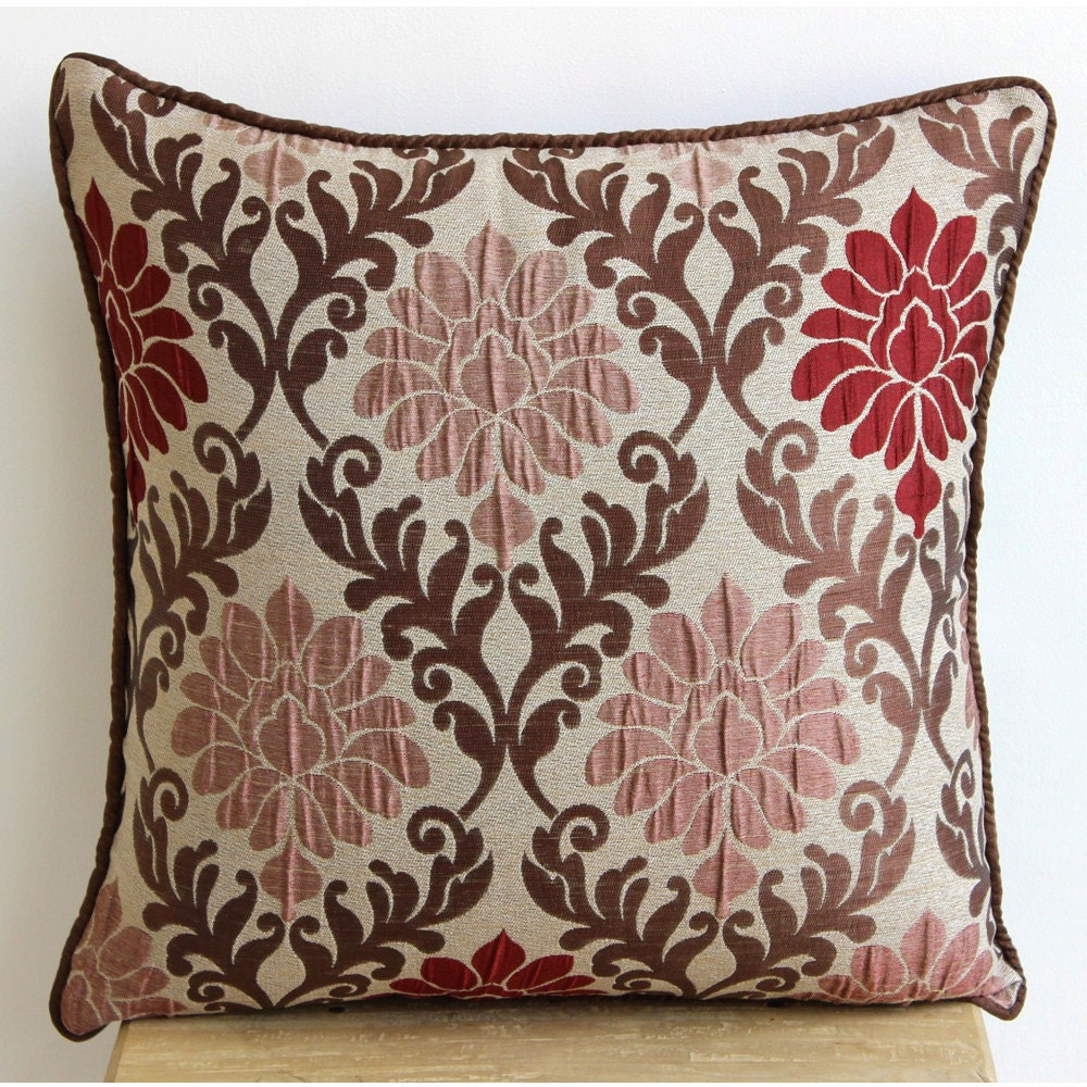 Decorative throw pillow covers couch pillows by thehomecentric for Decorative furniture covers