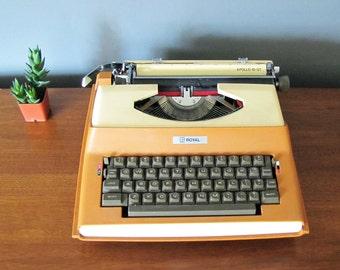 Royal Portable Electric Typewriter