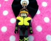 SALE X-Men Cyclops Nerd Girl Comic Book Necklace