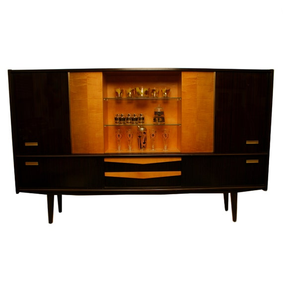 ON HOLD 1950s Monumental Cabinet Mid Century Modern Made in Germany