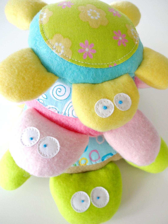 Baby Turtle Softies Toy Sewing Pattern Pdf By Preciouspatterns