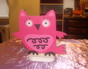 Made To Order Owl Center Piece