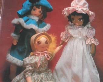 Vintage Easy-To-Make Dolls with Nineteenth-Century Costumes