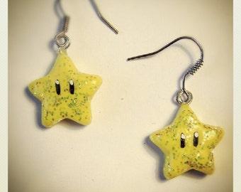 Invincibility Star Earrings