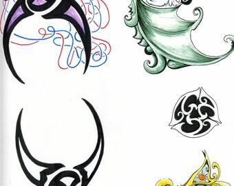 Custom Tattoo Design Artwork
