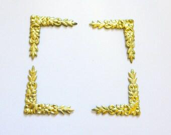 Stamped Brass - Corners
