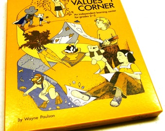 1976 The Values Corner - An Independent Learning Center for grades 2 - 5  (NEW)