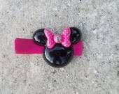 Minnie Mouse Head Clip