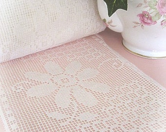 8 Inch Wide English Cotton Lace Vintage
