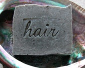 Dead Sea Mud Shampoo Bar for Oily Hair Types - Vegan Shampoo Bar -  Hand Stamped - SLS free - Palm oil free - AquarianBath
