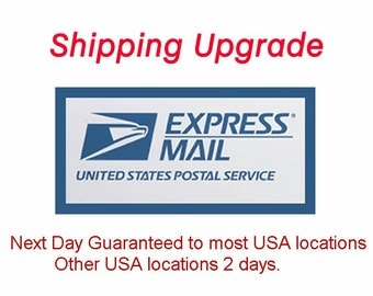 Shipping upgrade to USPS Express for Greeting Cards only