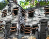 Limited time offer. Your house or buisness. custom order. have your house made into a haunted house