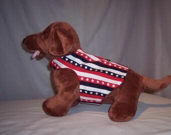 HARNESS PET WEAR Stars and Strip Shirt