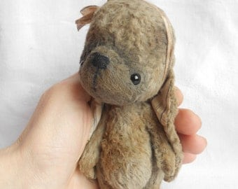 Artist bear bunny made to order by Sylvie Touzard
