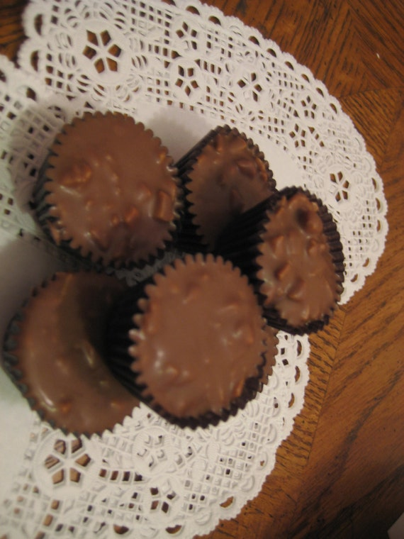 15  English Toffee Peanut Butter Cups FREE SHIPPING