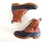 LL Bean Boots / Vintage Bean Boots / Rain Boots / Size 8
