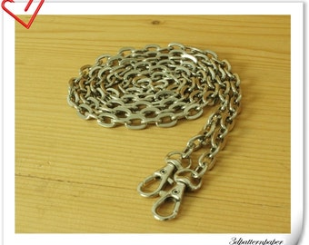 120cm heavy duty silver chains for purse K121