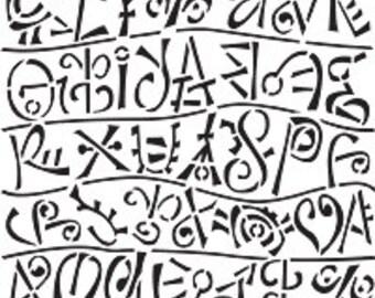Stencil - Runes